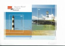 ARGENTINA 2010 LIGHTHOUSES PORTUGAL 2010 PHILATELIC EXPO SOUVENIR SHEET VF MNH
