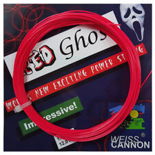Weiss Cannon Red Ghost Tennis String - 1.18mm / 18G - Red - 12m