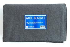 Camping Wool Blanket Fire Retardant Heavy Duty,many use, Army Emergency Military