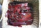 Orig. Big Lot 10kg German Antique Old amber Bakelite rods cubes translucent