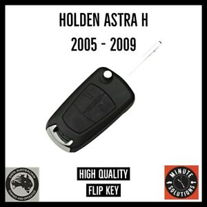 FITS HOLDEN ASTRA H 2005 2006 2007 2008 2009 COMPLETE REMOTE CAR KEY FOB