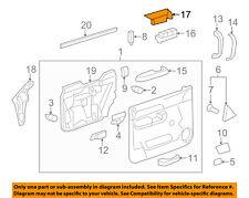 GM OEM Front Door-Switch Bezel Left 20922511