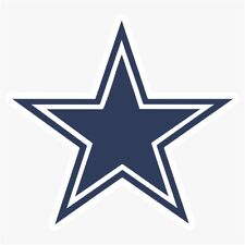 Dallas Cowboys #1 NFL Logo Die Cut Vinyl Decal Buy 1 Get 2 FREE