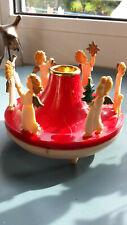 Spieluhr m. 6 Engel Plastik