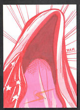 PROJECT SUPERPOWERS (Breygent/2011) SKETCH CARD by RICH MOLINELLI #26/100