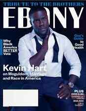 EBONY Magazine October November 2016 KEVIN HART, Idris Elba, Gabrielle Union NEW