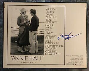 GFA Annie Hall '77 Star SHELLEY DUVALL Signed 11x14 Photo PROOF S9 COA
