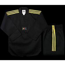 adidas Taekwondo Black CHAMPION 2 Uniform - TCC01-BK