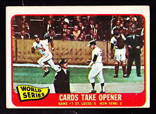 1965 TOPPS #132 CARDS TAKE OPENER W/MIKE SHANNON/WHITEY FORD/ELSTON HOWARD