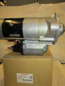 Genuine Denso 428080-6980 Starter PLGR-CW-11T FITS Hino/ Nissan UD 7.68L 2009-13