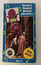 Barney's Magical Musical Adventure [VHS] Sing Along