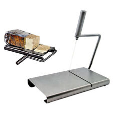 Cheese Slicer Butter Cutter Board Stainless Steel Wire Cutting Baking Kitchen
