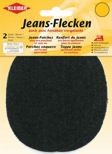 Kleiber Jeans Flecken zum Aufbügeln 13 x 10cm 5 Farben