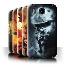 STUFF4 Back Case/Cover/Skin for HTC Desire HD/G10/War Battle Gaming Art