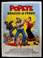 Werbeplakat Popeye Arm Von Eisen Robin Williams Robert Altman 1981 M313
