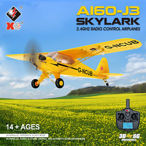 NEW WLtoys XK A160 3D 6G RTF Airplane Aircraft RC Fixed Wing Plane 2.4G 5CH UK