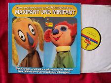 Maxifant und Minifant 1 - Zum erstenmal auf Schallplatte   rare klasse Peggy  LP