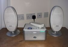 Sony CMT-CQ1 Micro Hi-fi Component System Speakers Cd Player  & Remote Control.