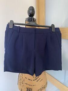 J. CREW  Navy Blue Shorts In Size UK 10/12