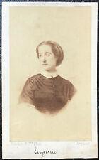 CDV de l'impératrice Eugénie, Photo Disderi Paris. Napoléon III famille impérial