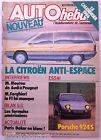 AUTO HEBDO du 2/01/1986; la Citroën Anti-Espace/ Essai Porsche 924S/ Paris-Dakar