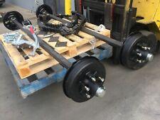 Brand new Trailer Tandem AXLE KIT H-DUTY 3.5T  bobcat plant excavator many uses
