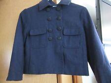 Women's navy blue crop Jacket size S by kimchi & blue