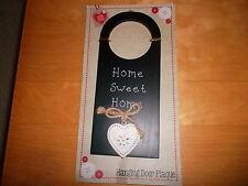 Cute Home Sweet Home Plaque avec cœur, b&m Retail, neuf dans emballage