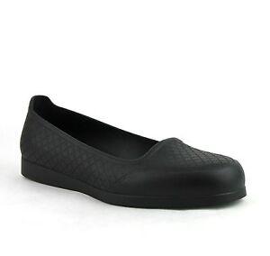 Neuf Gucci Caoutchouc Noir sur Chaussure / Housse W/Strass Motif 390170 1000
