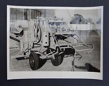 Photo ancienne BRAUD moissonneuse batteuse A2080 tractor tracteur Traktor 11