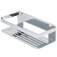Tiger Bathroom Basket Shower Storage Shelf Organiser Caddy Chrome 1400030346
