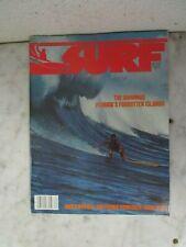 Vtg SUMMER 1977 SURF  / Surfer Magazine / VOL-1 NO-3