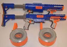 Nerf Bundle 2 x N-Strike Raider CS-35 Rapid Fire Blaster Guns Including Drums