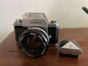 Nikon F Film Camera Film Tested