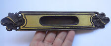 Vintage Solid Brass Pull Handle 9 1/2'' for Slide Door FREE Shipping