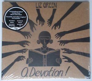 LIZ GREEN O Devotion CD album 2011 Play it again Sam freak  Folk card sleeve