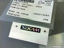 Pezzo di ricambio: ORIGINALE Sony 387001202 LABEL XDCAM per pdw-hd1500, hd1500, NUOVO