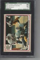 1976 Fleer #12 Houston Oilers SGC 86 near mint +