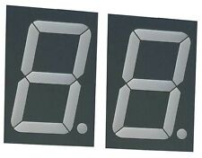 Large Seven Segment Display, Tri-Color 2.3 inch Digit (Pack of 2)