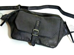 NWT Fantastic  Free People leather Tanner Crossbody Sling bag
