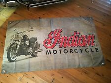 Indian Mc  printed poster  man cave flag INDIAN MOTOR CYCLE pool room flag bar
