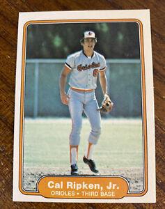 1982 Fleer Cal Ripken Jr Rookie Card RC #176 NM READ