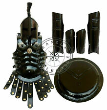 Full Body Armor Templar Crusader Combat Medieval Knight Suit Of Stainless Steel