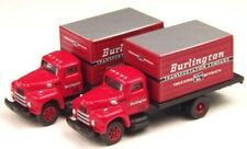 CMW N Scale 1950 International Harvester R190 Burlington Transport Truck 2 pk