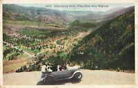 Postcard Observation Point Pikes Peak Auto Highway Colorado