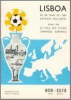 * 1967 EUROPEAN CUP FINAL - CELTIC v INTER MILAN *