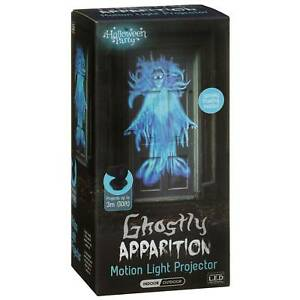Halloween Ghostly Motion Light Projector Ultra Bright LED For Outdoor/indoor Use