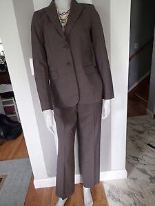 BANANA REPUBLC WOOL blend BLAZER sz 4,SUIT Jacket,stretch contoured fit pants zd