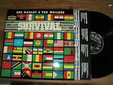 BOB MARLEY & THE WAILERS / SURVIVAL (1979) LP Africa unite, so much trouble, etc