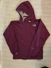 THE NORTH FACE HYVENT Burgundy Wind Breaker Jacket Girls Size M